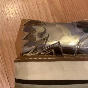 Zara Shoes - Zara Women Oxford platform shoes